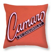 Camaro Throw Pillow