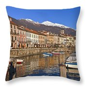 Cannobio - Italy Throw Pillow