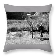 Canon Fire Throw Pillow