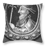 Canute I (c995-1035) Throw Pillow