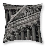 Capitol Buildings Throw Pillow