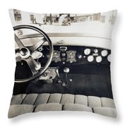Car Radio, C1940 Throw Pillow