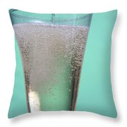 Carbonated Drink Throw Pillow