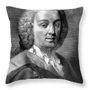 Carlo Goldoni (1707-1793) Throw Pillow