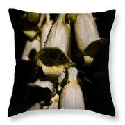 Cascading Flower Throw Pillow
