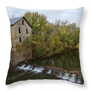 Cedar Point Mill Throw Pillow