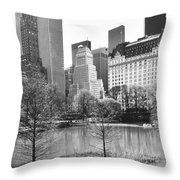 Central Park Throw Pillow