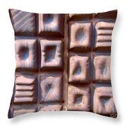 Ceramic Tiles Throw Pillow