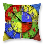 Changing Times Throw Pillow