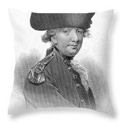 Charles Cornwallis Throw Pillow