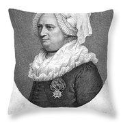 Charles Deon De Beaumont Throw Pillow