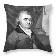 Charles Fox (1749-1806) Throw Pillow