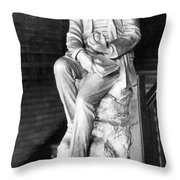 Charles Martin Hall, American Inventor Throw Pillow