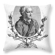 Charles Simon Favart Throw Pillow