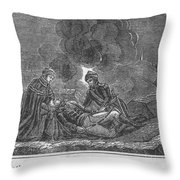 Charles Xii Of Sweden Throw Pillow