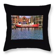 Chesapeake Throw Pillow