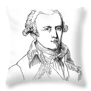 Chevalier De Lamarck Throw Pillow