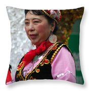 Chinese New Year Nyc 4705 Throw Pillow