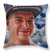 Chris Throw Pillow