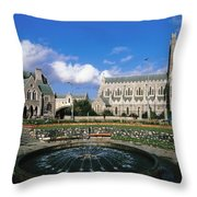 Christ Church Cathedral, Synod Hall Throw Pillow