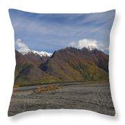 Chugach Fall Throw Pillow