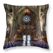 Church Of England Throw Pillow