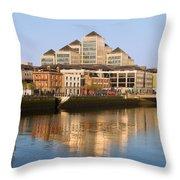 City Of Dublin Throw Pillow