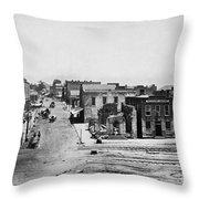 Civil War: Atlanta Throw Pillow