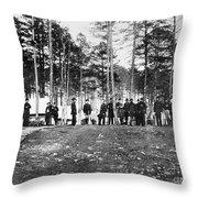 Civil War: Brandy Station Throw Pillow