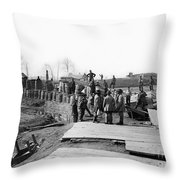 Civil War: Bull Run, 1862 Throw Pillow