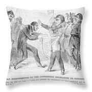 Civil War: Copperhead, 1863 Throw Pillow