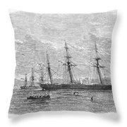 Civil War: C.s.s. Florida Throw Pillow