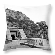 Civil War: Drewrys Bluff Throw Pillow