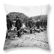 Civil War: Georgia, 1864 Throw Pillow