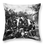 Civil War: Headquarters Throw Pillow