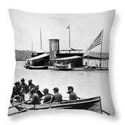 Civil War: Monitor Throw Pillow
