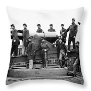 Civil War: Officers, 1865 Throw Pillow