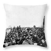 Civil War: Petersburg, 1864 Throw Pillow