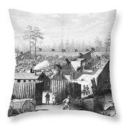 Civil War: Prison, 1864 Throw Pillow