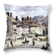 Civil War: Richmond, 1862 Throw Pillow