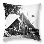Civil War: Signal Corps Throw Pillow