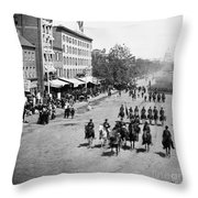 Civil War: Union Army Throw Pillow
