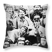 Civil War Volunteers 1861 Throw Pillow