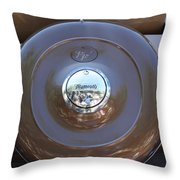 Classic Antique Plymouth - Detail Throw Pillow