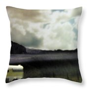 Classic Road Trip Throw Pillow