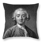 Claude Adrien Helvetius Throw Pillow