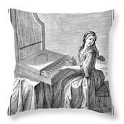 Clavicytherium, 1723 Throw Pillow