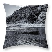 Cloud Over The River Throw Pillow