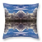 Cloud's Illusions Throw Pillow