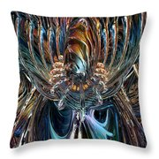 Clutches Of Eternity Fx  Throw Pillow